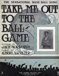 Take Me Out To The Ballgame Song Sheet Music Cover