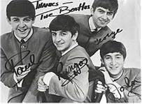 The Beatles #1 Artist 1960-1969 Signed Photo