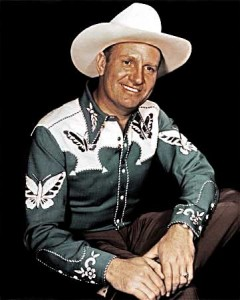 Gene Autry Country & Western Artist #101 of Top 200