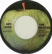 45 RPM The Beatles All-Time Best Single Hey Jude #1 9 Weeks