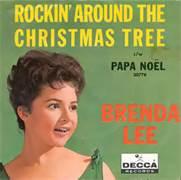 Brenda Lee Rockin Around The Christmas Tree Album Cover