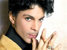 A Color Photo of Prince The Singer