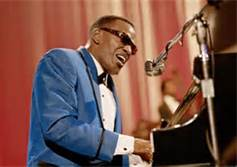 Color Photo of Ray Charles