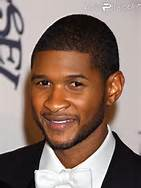 A Color Photo of Usher