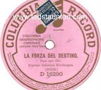 Columbia Record Label