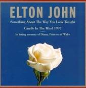 Elton John Album Cover Candle In The Wind 1997