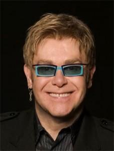 A Color Photo Of Elton John