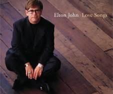Elton John Love Songs Album Cover