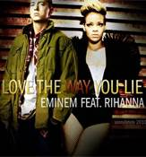 Eminem & Rihanna Love The Way You Lie Album Cover