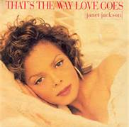 Janet Jackson That's The Way Love Goes Album Cover