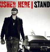 Usher Here I Sand Cover Album Photo