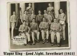 Wayne King Orchestra Good Night, Sweetheart