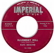 Blueberry Hill Imperial 45 RPM Record