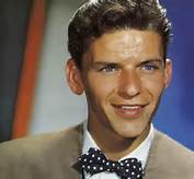 Color Photo of a Young Frank Sinatra
