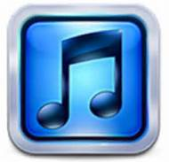 Music Note In Blue