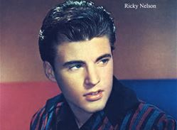 Ricky Nelson Color Photo