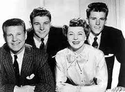Ricky Nelson and Hit TV Family Father Mother Brother