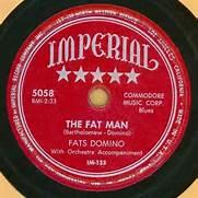 The Fat Man 78 RPM Single Record Fats Domino