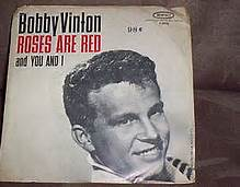 Bobby Vinton Roses Are Red 45 Sleeve Picture