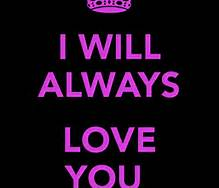 I Will Always Love You Words