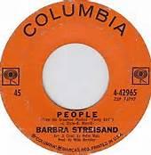 People 45 RMP Record Barbra Streisand