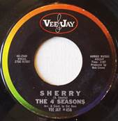 Sherry 45 RPM Record By Four Seasons