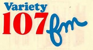 Variety 107 FM Radio Call Letters