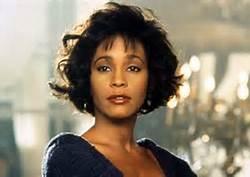Whitney Houston Color Photo