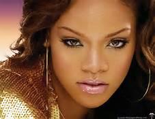 Wonderful Color Photo of Rihanna