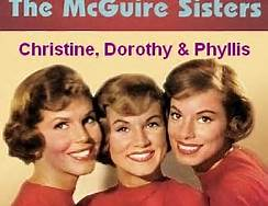 Color Photo of The McGuire Sisters