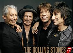 Group Color Photo of The Rolling Stones