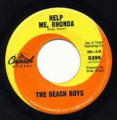 Help Me Rhonda By The Beach Boys On Capitol Records 45 #1 Song