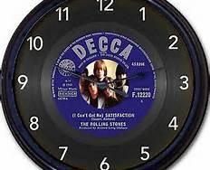 Rolling Stones Satisfaction Clock