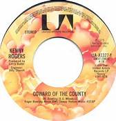 Coward Of The County #1 Single 45 Kenny Rogers Three Weeks