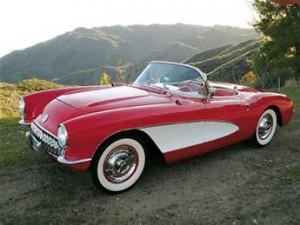 1957 Red Corvette