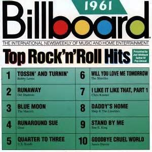 1961 Billboard Top Rock N Roll Hits