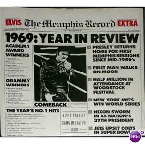 1969 Year In Review Newspaper Headlines