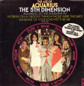 Aquarius Album Cover of the Fifth Dimension