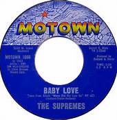 Baby Love 45RPM By The Supremes Motown Label No. 1