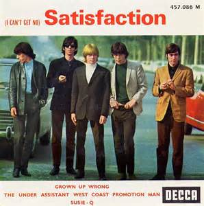 I Cant Get No Satisfaction Rolling Stones Album Cover