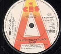 Its Still Rock And Roll To Me Billy Joel 45 RPM Record