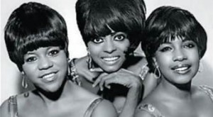 The Supremes Group Photo B-W