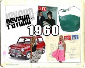 The Year of 1960 In Review