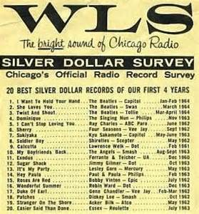 Top 20 Songs WLS Silver Dollar Survey 1964