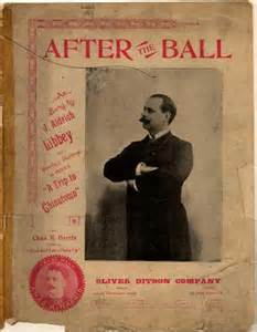After The Ball Sheet Music No. 90 All-Time George Gaskin