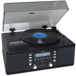 Teac LP-R550USB CD Recorder Black