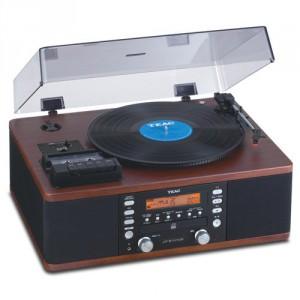 Teac LP-R550USB CD Recorder Walnut